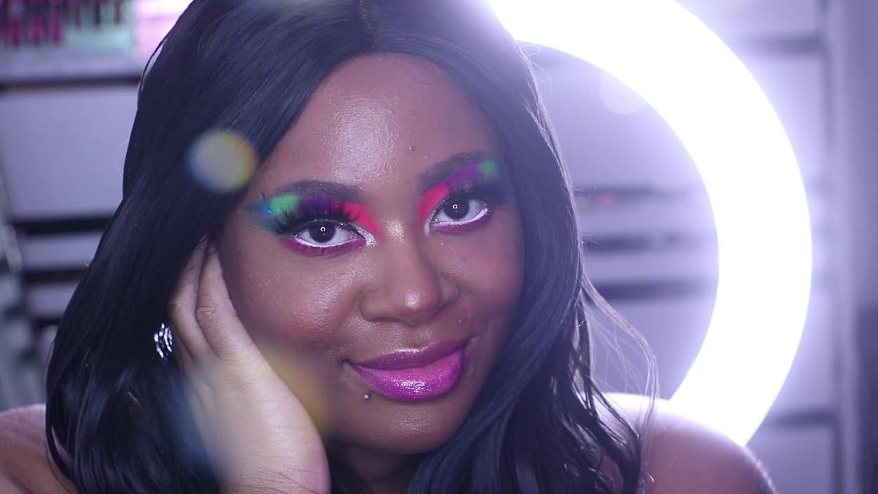 Rainbow cut crease FT Sarazaar Cosmetic's I RURIKO YAMAZAKI