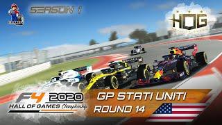 F1 2020 - season 1 round 14 stati uniti cat. f4