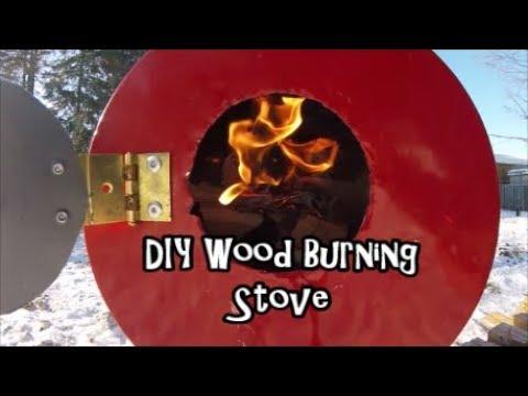 DIY Wood Burning Stove Test