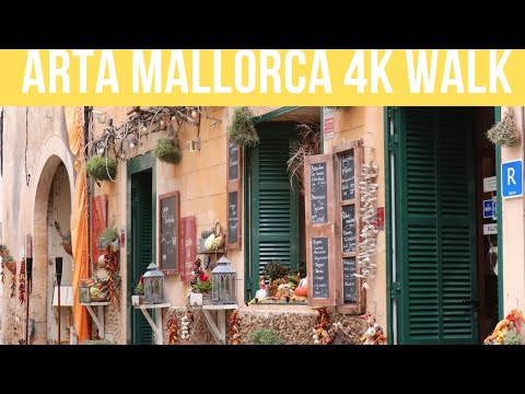 Arta Mallorca 4K Walking Tour
