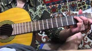 Урок - 2 на гитаре с подругой для души:)Виктория Юдина