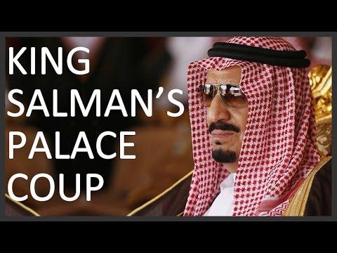 King Salman's palace coup and the Saudi royal politics