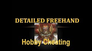 Hobby Cheating 155 - How to Paint Detailed Freehand