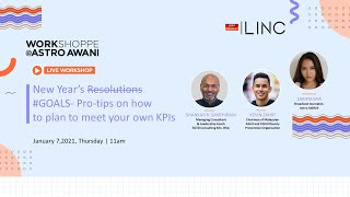 New Year's #GOALS: Pro-tips on How to Plan to Meet Your Own KPIs