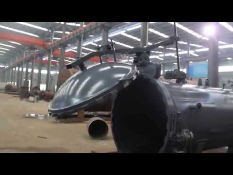 video of autoclave kettle running and operation