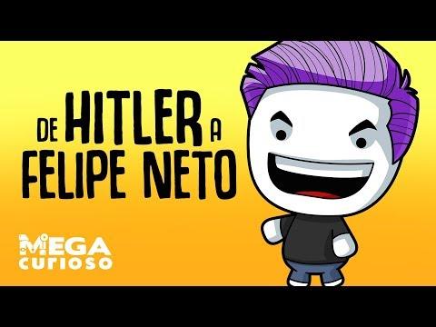 Felipe Neto e Hitler ligados a apenas 6 apertos de mão?