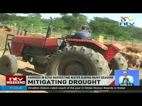 Kitui farmers fighting drought by harvesting water during rainy season