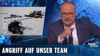 """""""Wie Zombies"""" – Abdelkarim über den Angriff auf das heute-show-Team"""
