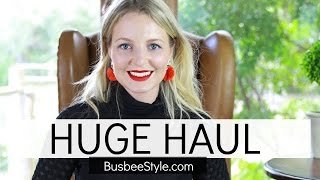 HUGE HAUL VIDEO | BusbeeStyle com