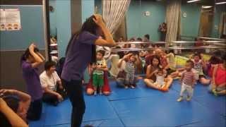 香港「好美樂」Toddler Tunes 音樂寶寶上堂情況