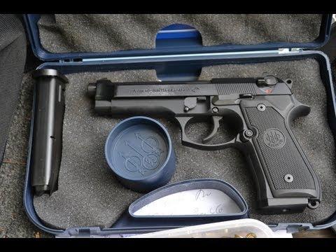 Beretta M9 shooting review