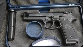 Beretta M9 shooting review