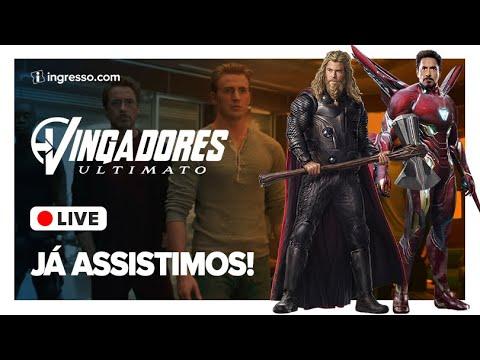 Play 🔴 Vingadores Ultimato - Análise do filme | Live