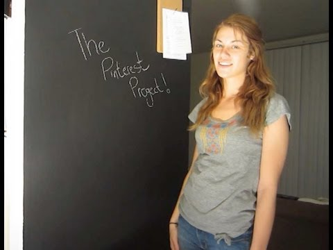 Creating a Chalkboard Wall