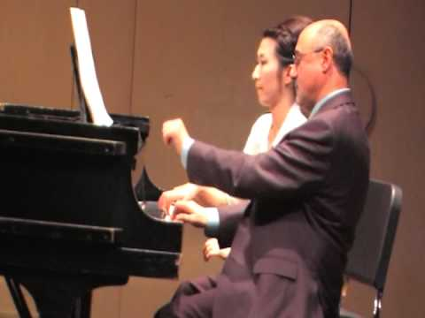 COSTCO PIANO GIRL: Rossini Semiramide for Piano (Eight Hands)
