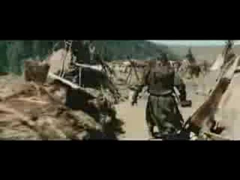 Mongols fights with Merkits