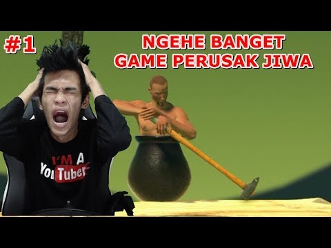 GAME SETRESSS ! Game Ng*he Kaga Ada Obat Nya - Getting Over It with Bennett Foddy