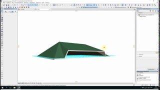 Построение крыш в ArchiCAD 19