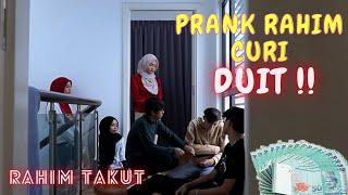 KANT0I RAHIM CURI DUIT SAMPAI MEN4NGIS !! - PRANK TEAH & RAHIM DITUDUH !!
