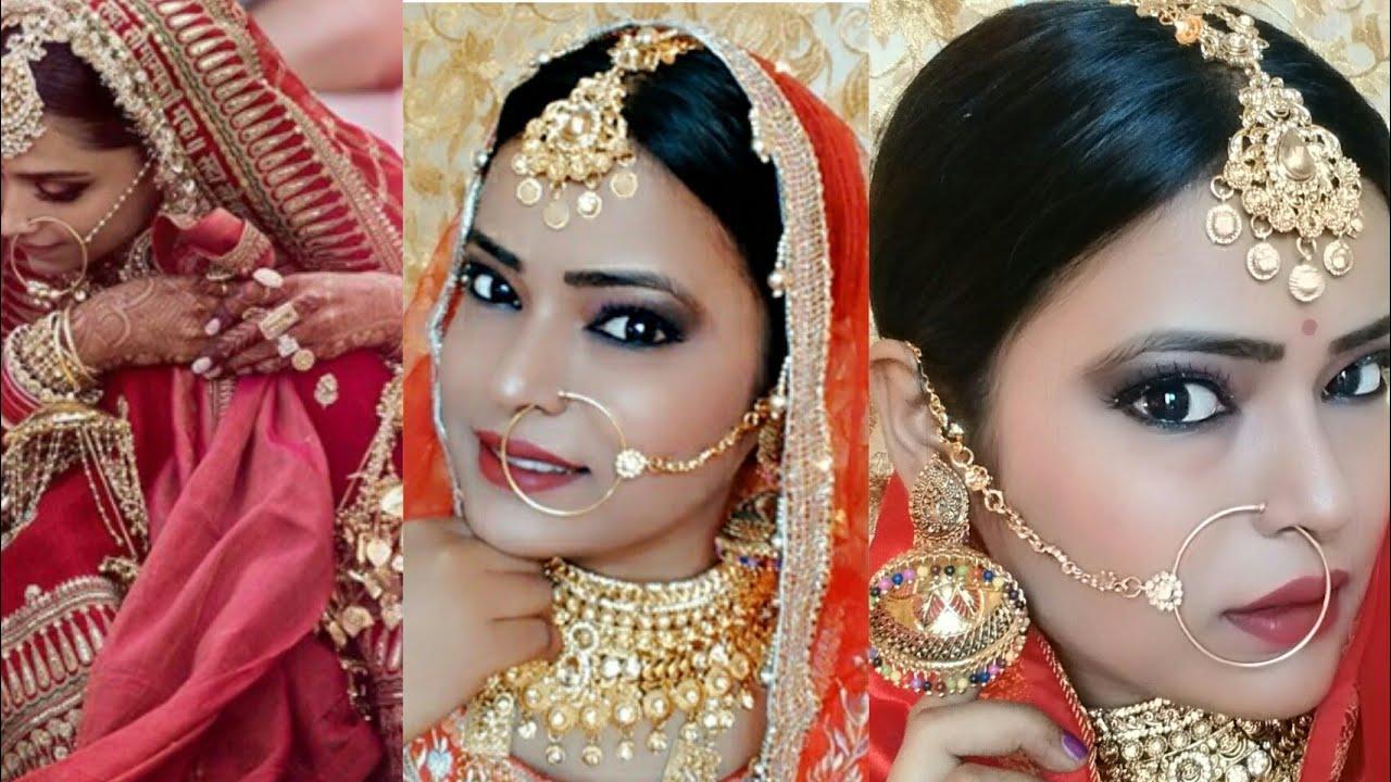Deepika Padukone Wedding/ Bridal Look | Step By Step Full ...