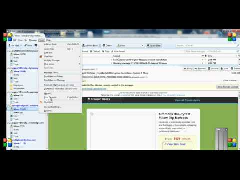 Mozilla Thunderbird - How to Create Email Templates Easily - YouTube
