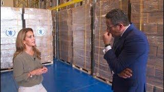 جولة مع الأميرة هيا عقيلة حاكم دبي داخل المدينة العالمية للخدمات الإنسانية