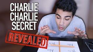 CHARLIE CHARLIE PENCIL CHALLENGE SECRET REVEALED
