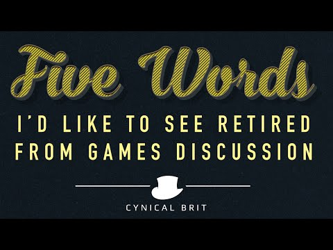 "Total Biscuit ""5 Words I'd like to see Retired from Game Discussion"""