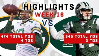 Aaron Rodgers vs. Sam Darnold Week 16 Battle