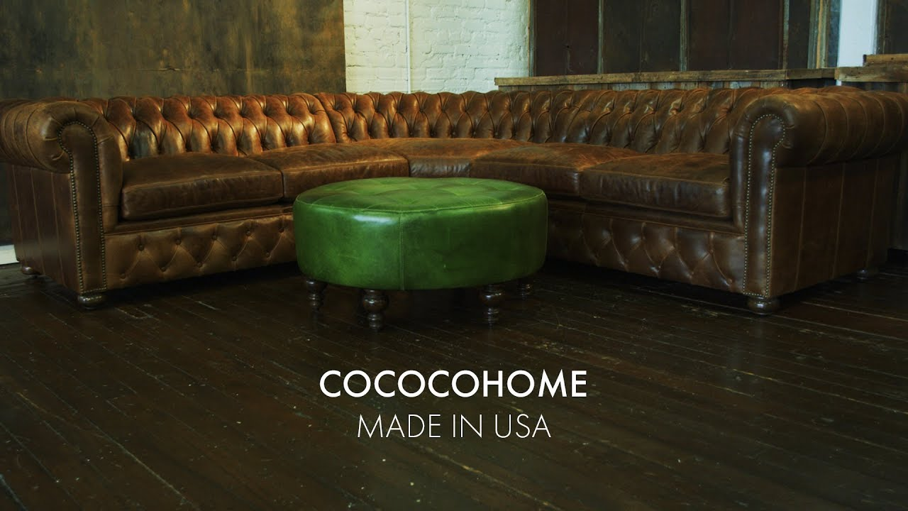 chesterfield sectional sofa suppliers ashley damacio reviews traditional cococohome manufacturer made in usa