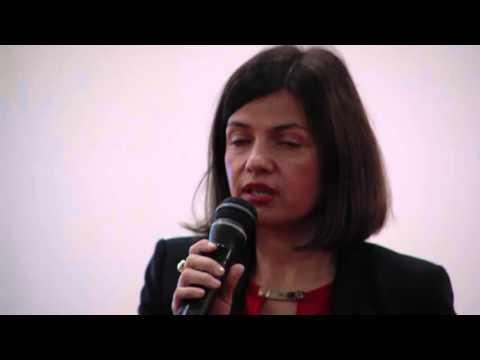 02  Sonja Smuc at Macedonia Economic Summit Leadership Talks