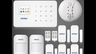 GSM сигнализация KERUI G18 с Аллиэкспресс, обзор
