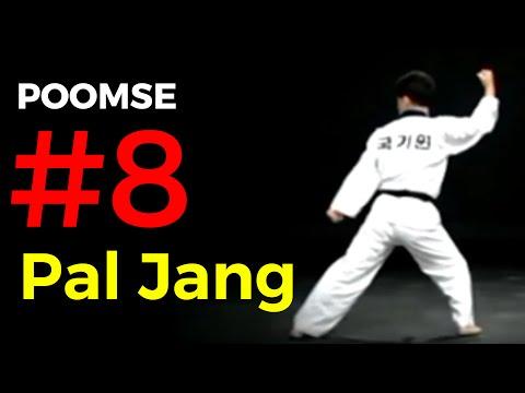 Poomse 8 TAEGEUK PAL JANG – Poumsé n°8 en Taekwondo
