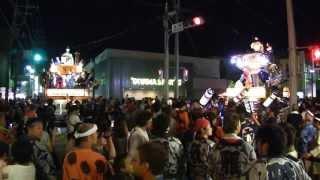 鉾田の夏祭り 2013 新町交差点