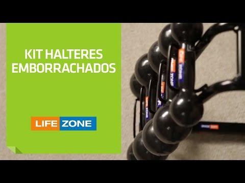 Kit Halteres Emborrachados Life Zone | Shoptime