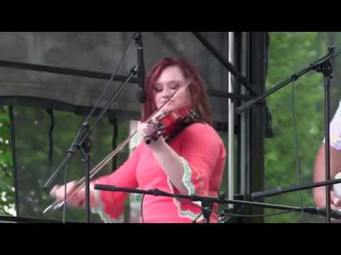 Angeline The Baker- Turning Point with Crystal Shipley on Fiddle 5 June 2014