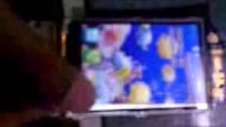Sulapan LCD cross