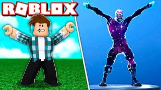 NOUVEAU DANCES DE FORTNITE EN ROBLOX!!