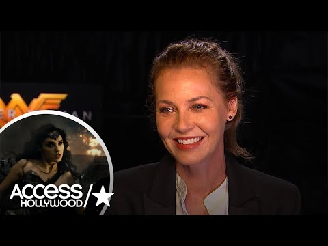 'Wonder Woman': Connie Nielsen On Working With Gal Gadot   Access Hollywood