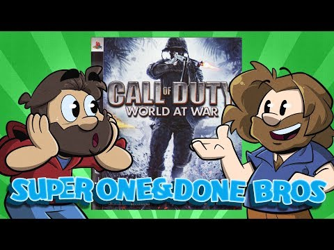 Super One and Done Bros | Let's Play: Call of Duty: World at War | Super Beard Bros.