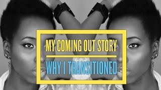 My coming out story | Why did I transition, Big Chop, Natural Hair Growth, Products and care 4b/4c