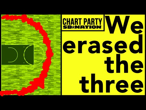 Chart Party: We decided to erase the three-pointer