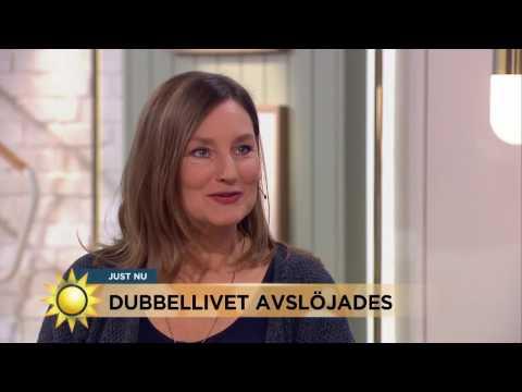 Hennes man levde dubbelliv - hade både annan fru och älskarinna - Nyhetsmorgon (TV4)