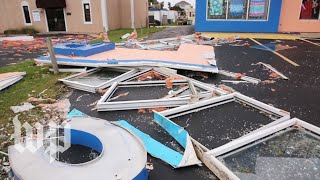 In these N.C. beach towns, some residents stayed behind. Here's what Florence left them