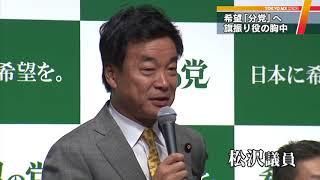 """希望""""分党""""協議へ 若狭氏「なるべくしてなった」"""