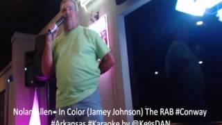 Nolan Allen   In Color Jamey Johnson The RAB #Conway #Arkansas #Karaoke by @KeysDAN