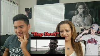 "MOM REACTS TO Machine Gun Kelly ""Rap Devil"" (Eminem Diss) Official Music Video"