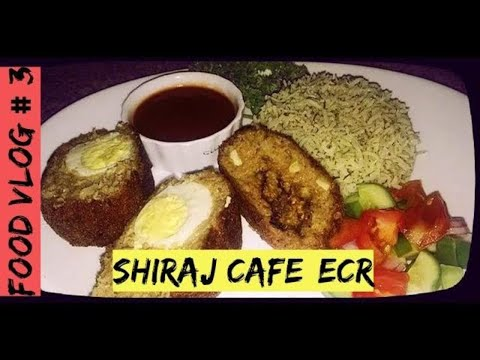 FOOD VLOG#3 IRANIAN DINNER @ Shiraj Art Cafe, Neelangarai