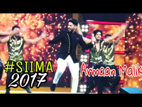 Armaan Malik | SIIMA Awards 2017 Full Performance/Dance At Abhu Dhaabi Emo Emo Song