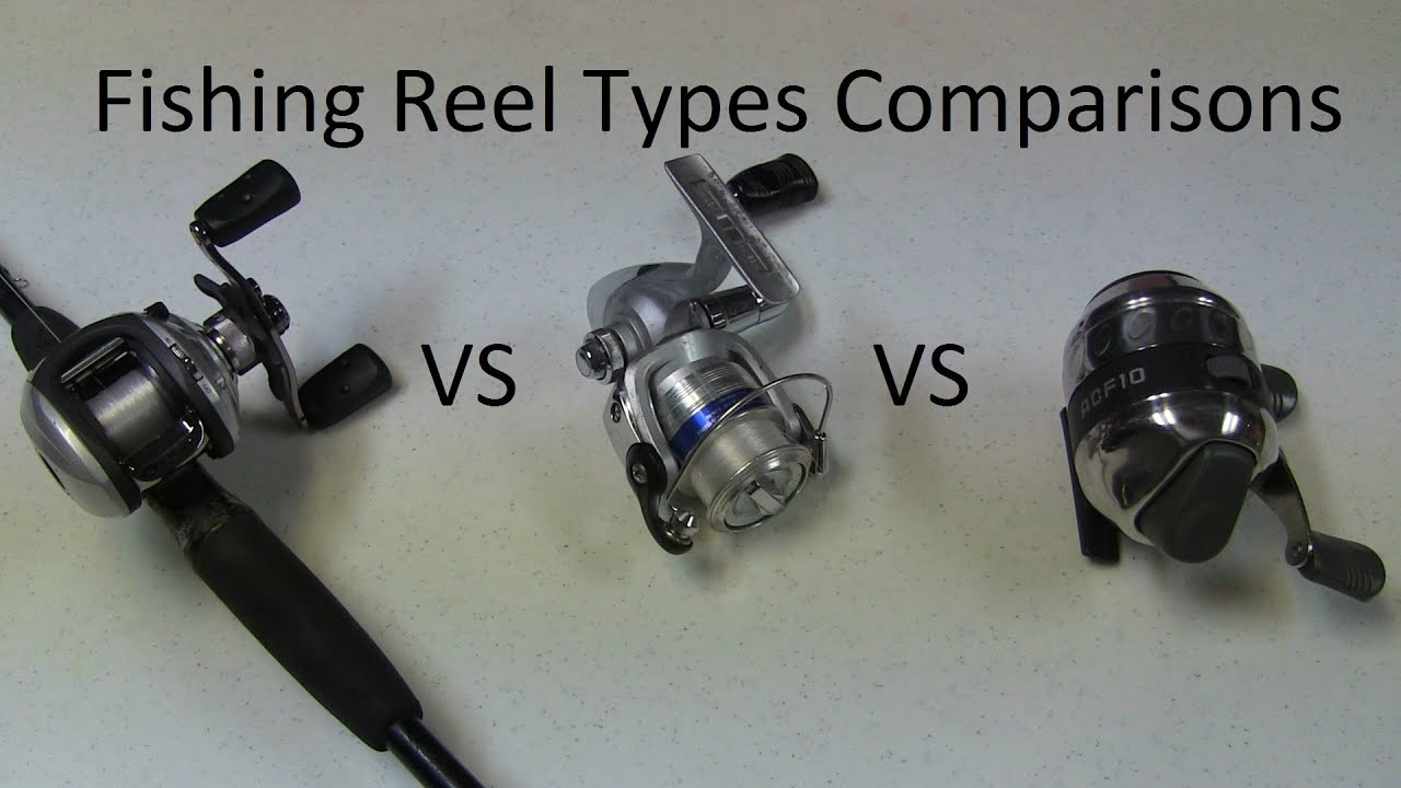 best fishing reel type - spinning vs baitcasting vs spincaster, Fishing Reels